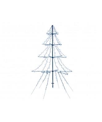 SAPIN LED arbre grappe lum...