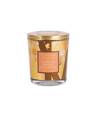 BOUGIE 180gr Cannelle Orange