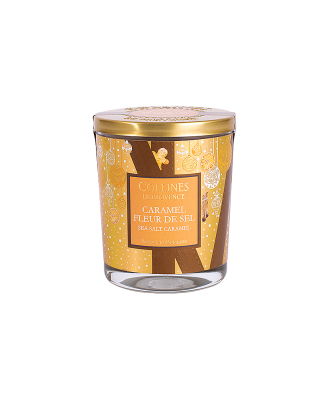 Bougie de noël - Caramel...