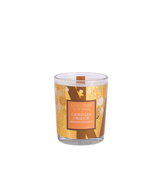 BOUGIE 75gr Cannelle Orange