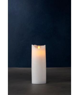 LED BOUGIE blanche 7.5xH20cm