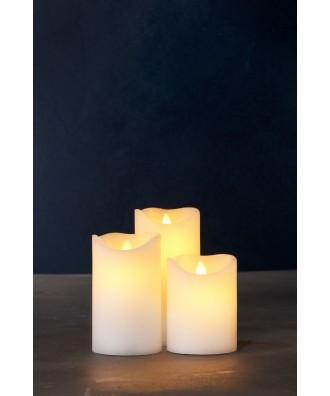 LED BOUGIE blanche set x3...