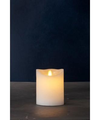 LED BOUGIE blanche 10xH12.5cm