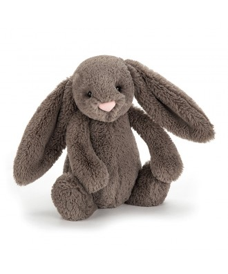 PELUCHE LAPIN taupe 31cm