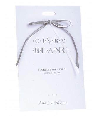 POCHETTE PARFUMEE givre blanc