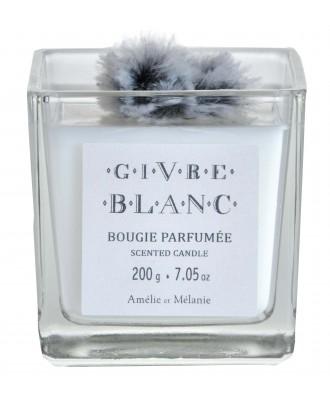 BOUGIE PARFUMEE Givre blanc...